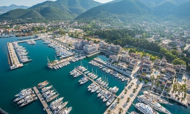Porto Montenegro Marina in the popular Eastern Mediterranean yacht charter destination - Montenegro