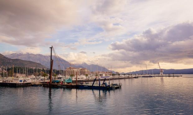 Porto Montenegro in the lovely Eastern Mediterranean yacht charter location - Montenegro