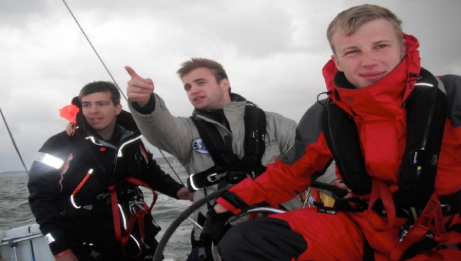 Professional yacht training provided by UKSA