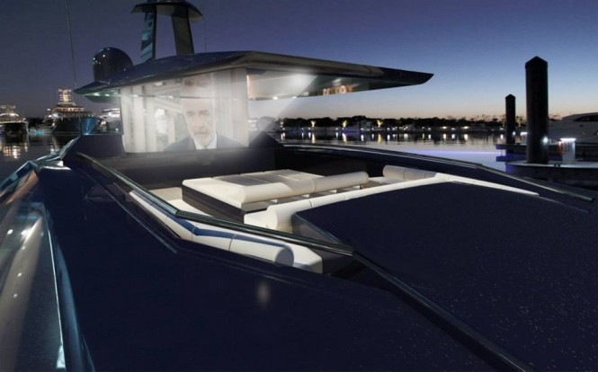Project Granturismo Yacht by night