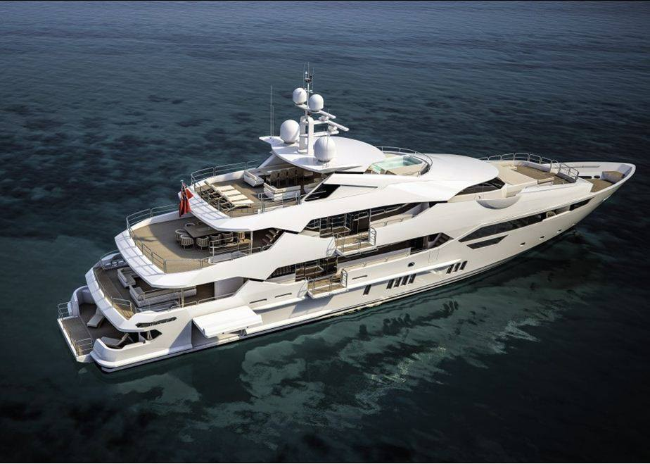 rendering of sunseeker 155 yacht yacht charter superyacht news. Black Bedroom Furniture Sets. Home Design Ideas