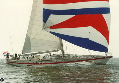 Royal Huisman-built superyacht Flyer II