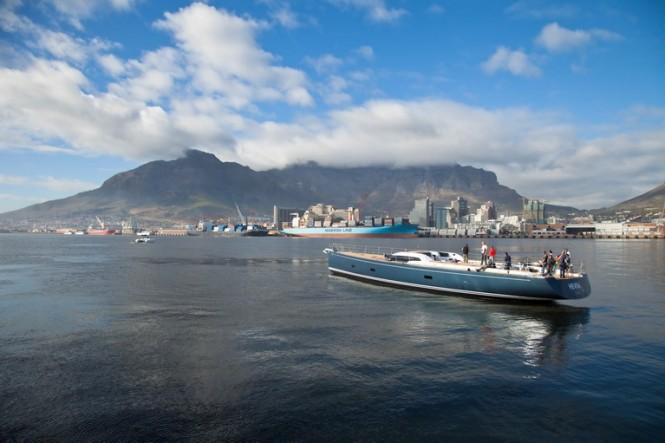 Sailing yacht Hevea