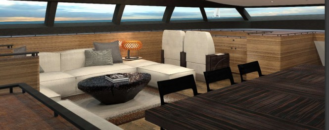 Sailing yacht PS46 concept - Voyager Saloon
