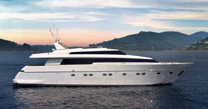 Sanlorenzo 88 superyacht Marcelina sold by WHYKO