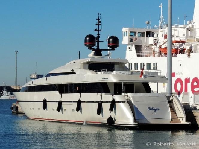 Sanlorenzo superyacht Liliya - Photo credit Roberto Malfatti