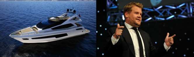 Sunseeker 75 Yacht to be unveiled by James Corden at the 2014 London Boat Show