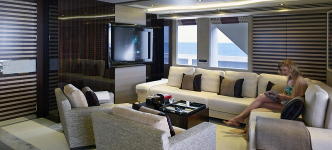 Superyacht Galactica Star - Interior