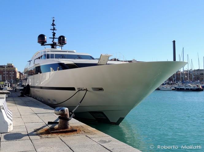 Superyacht LILIYA - Photo credit Roberto Malfatti