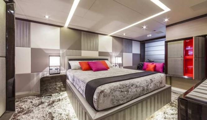 Superyacht Panthera - VIP Cabin - Lower Deck