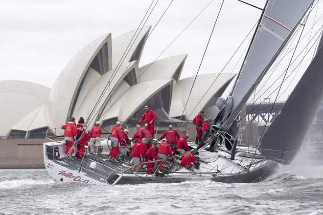 Superyacht Wild Oats XI at SOLAS Big Boat Challenge