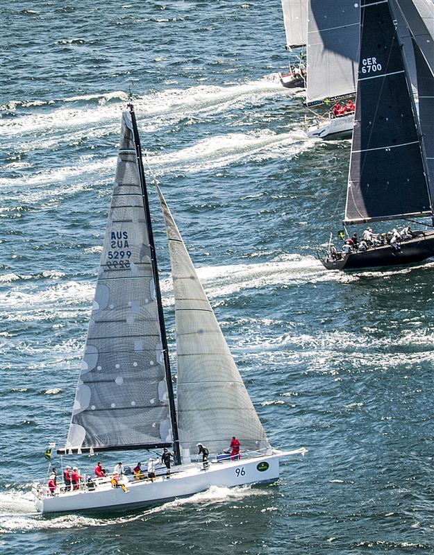 Victoire Yacht - 2013 Rolex Sydney Hobart Yacht Race Overall Winner - Photo by Rolex Daniel Forster