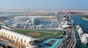 Yas Marina in the charming Middle Eastern yacht charter location - Abu Dhabi