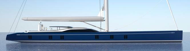 46m Tripp-designed World Cruising Superyacht under construction at Holland Jachtbouw