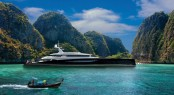 80m motor yacht DART concept by Royal Huisman and Andrew Winch Designs