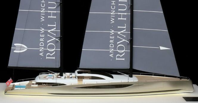 80m sailing yacht DART