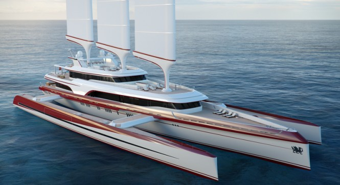 80m superyacht Dragonship