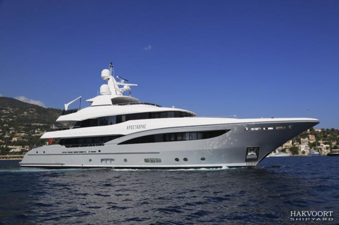 Apostrophe Yacht by Hakvoort