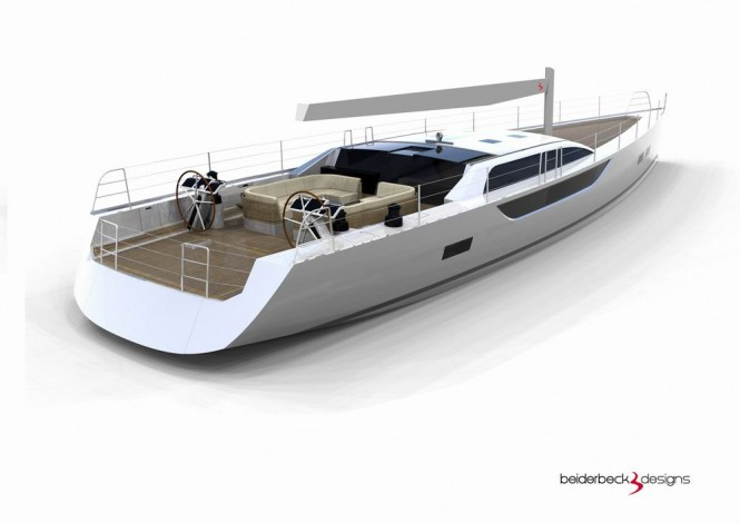 Bd80 Yacht - aft view
