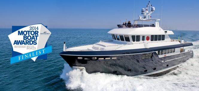 Darwin Class 96' superyacht Stella di Mare built by Cantiere delle Marche