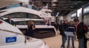 Fairline Boats at the 2014 London Boat Show