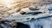 Ferretti 690 Yacht to be displayed at boot Dusseldorf 2014