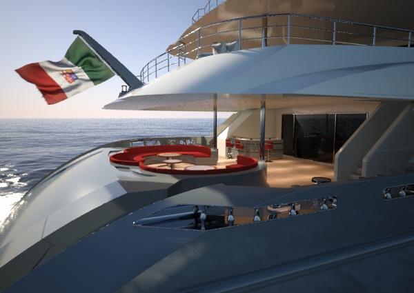 Hull C04 superyacht