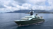 Iconic superyacht HIGHLANDER by Feadship refitted by Derecktor