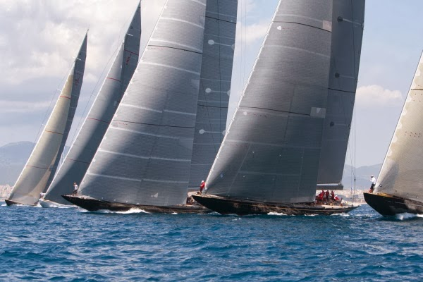 J Class yacht at Superyacht Cup Palma - Photo by Claire Matches