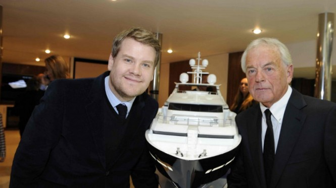 James Corden and Robert Braithwaite