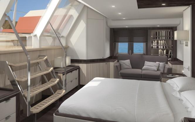 Jongert 3200P Yacht - Owners cabin