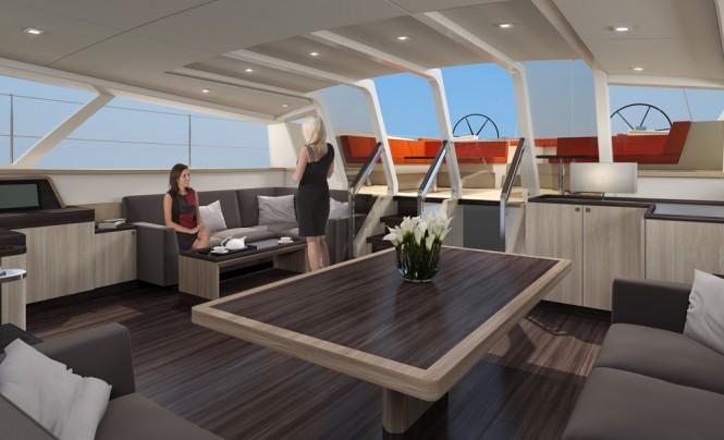 Jongert sailing yacht 3200P - Wheelhouse