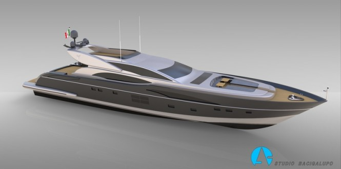 Leopard 36m Sportfly Yacht by Leopard Yachts and Andrea Bacigalupo