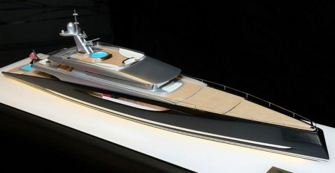 Luxury motor yacht DART