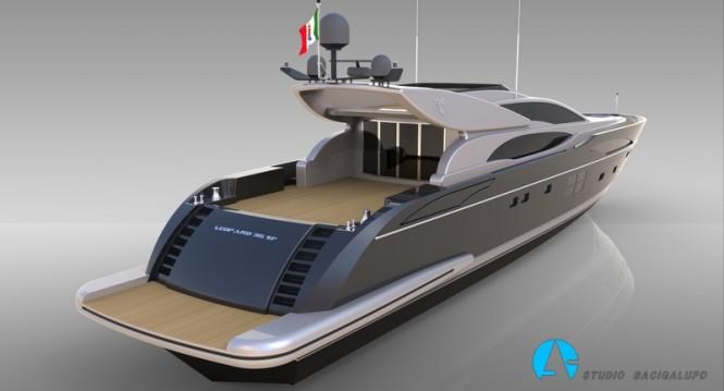 Luxury yacht Leopard 36m Sportfly