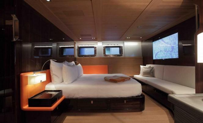 Luxury yacht Seahawk - Cabin