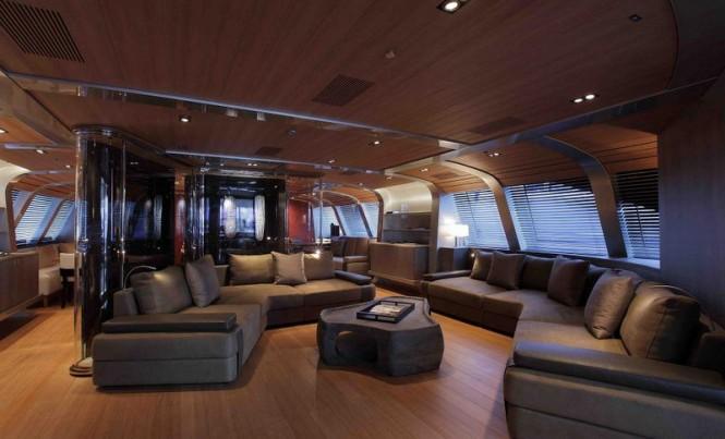 Mega yacht Seahawk - Saloon