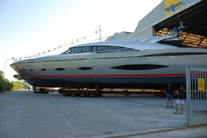 Motor yacht AB 140 by Fipa Group at launch