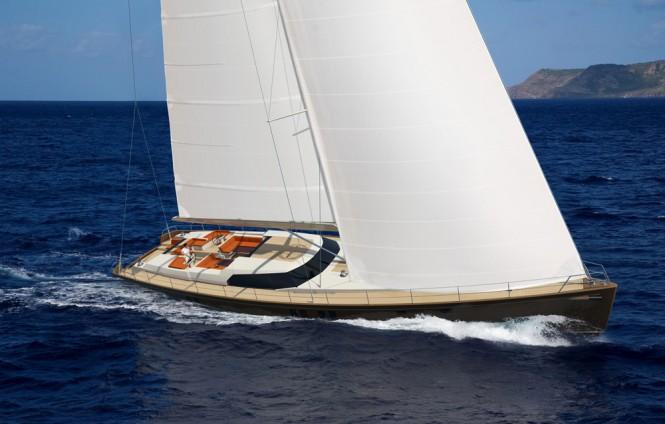 Rendering of Jongert 3200P Yacht