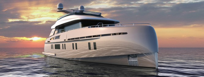 Rendering of Storm S-78 Yacht
