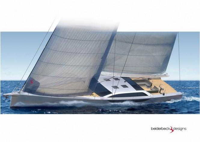Sailing yacht Bd80 by beiderbeck designs