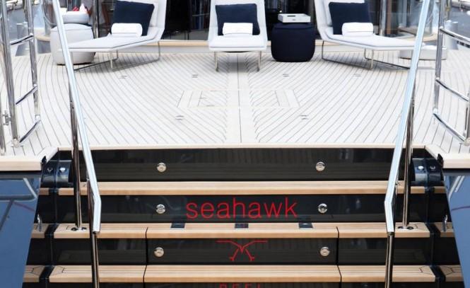Seahawk superyacht - Exterior