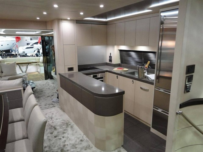 Sunseeker 75 Yacht - Galley
