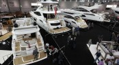 Sunseeker Yachts at the 2014 London Boat Show