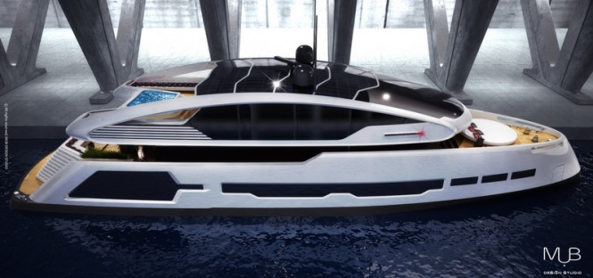 Superyacht Su-36 concept by MUB Design Studio