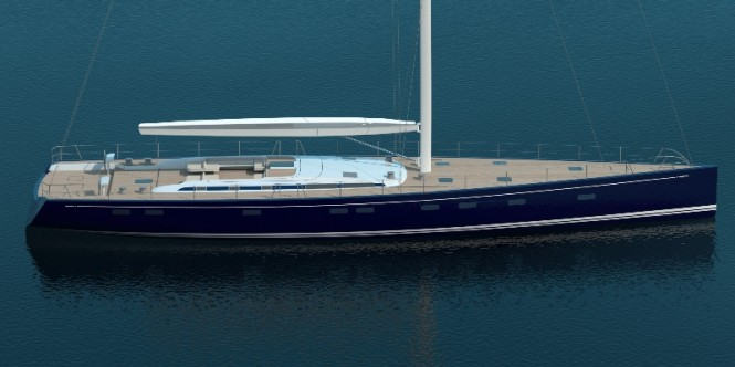 Swan 115 FD superyacht - Image credit to Nautor's Swan