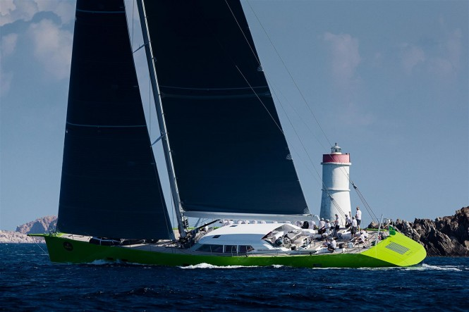 The new superyacht Inoui to participate in the Superyacht Challenge Antigua 2014 - Photo by Carlo Baroncini