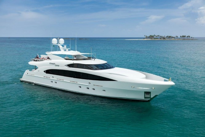 Trinity Yachts superyacht FINISH LINE (Hull T-058) - Profile