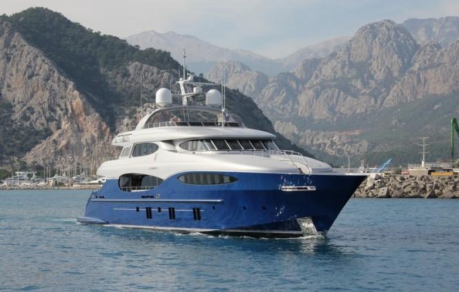 Vicem Vulcan 46m superyacht Le Caprice V