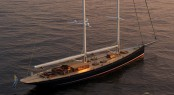 Luxury Schooner Dona Francisca by Astillero Buquebus and Soto Acebal NA